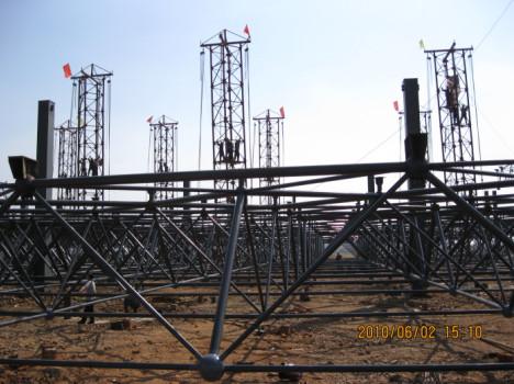 工程有限公司,建筑钢结构,网架等设计,制作,施工的专业公司.