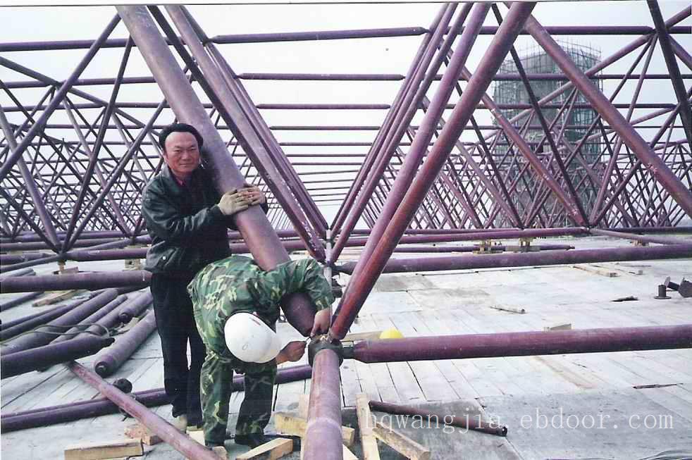 工程案例-徐州先禾钢结构网架加工公司,提供网架加工
